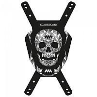 [해외]ALL MOUNTAIN STYLE Front Number Plate 1138129172 Skull Black