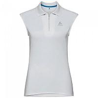 [해외]오들로 Kumano Dry Sleeveless Polo Shirt 4136739648 White / Odlo Silver Grey