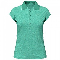 [해외]오들로 Kumano Short Sleeve Polo Shirt 4137325365 Creme De Menthe Melange
