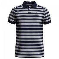 [해외]오들로 Concord Short Sleeve Polo Shirt 4137325466 Silver Grey / Diving Navy / Stripes