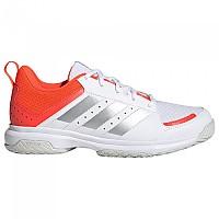 [해외]아디다스 BADMINTON Ligra 7 Shoes 3138103894 Ftwr White / Acid Yellow / Solar Red