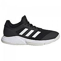 [해외]아디다스 Court Team Bounce Shoes 3137891587 Core Black / Ftwr White / Silver Met.