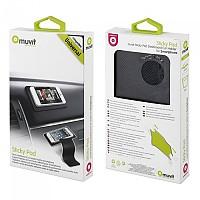 [해외]MUVIT Anti-slip Pad Universal Mobile Car Support 9137555687 Black