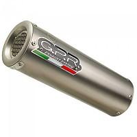 [해외]GPR EXCLUSIVE M3 Natural Titanium Slip On Muffler ZX-10R ZXT00S 16-19 Euro 4 Not Homologated 9138139828 Silver / Silver