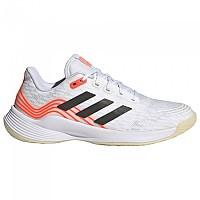 [해외]아디다스 BADMINTON Novaflight Shoes 3138103884 Ftwr White / Core Black / Solar Red