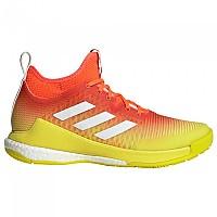 [해외]아디다스 Crazyflight Mid Shoes 3138104728 Solar Red / Ftwr White / Acid Yellow