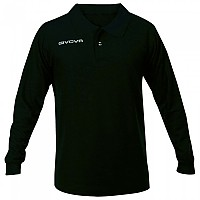 [해외]GIVOVA Winter Long Sleeve Polo 3138123771 Black