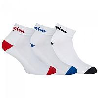 [해외]CHAMPION Performance Short Socks 3 Pairs 3138166322 White