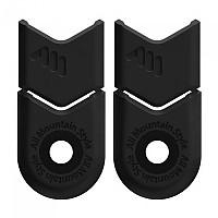 [해외]ALL MOUNTAIN STYLE Crank Protectors 1138129166 Black