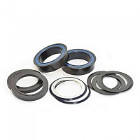 [해외]WHEELS MANUFACTURING BB86/92 30 mm Flanged Dual Row Bottom Bracket Sealed Bearings 1138157352 Black