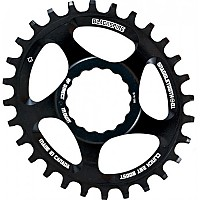 [해외]BLACKSPIRE Oval Race Face Direct Mount Boost 3 mm Offset Chainring 1138156707 Black