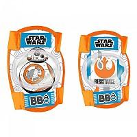 [해외]DISNEY Star Wars Elbows/Knees Protections Kit 1138173370 Orange