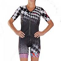 [해외]ZOOT Ultra Aero Race Suit Short Sleeve Trisuit 1138152129 Black / Pink