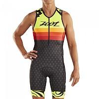 [해외]ZOOT LTD Ali´i 19 Race Suit Sleeveless Trisuit 1138152134 Black / Yellow / Orange