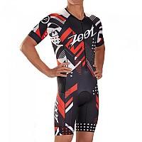 [해외]ZOOT Tri Aero Team 19 Race Suit 1138152135 Black / Red / White
