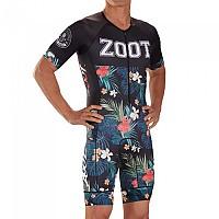[해외]ZOOT Tri Aero 83 19 Race Suit Short Sleeve Trisuit 1138152137 Aloha