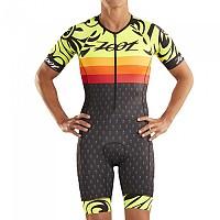 [해외]ZOOT LTD Aero Ali´i 19 Race Suit Short Sleeve Trisuit 1138152139 Grey / Yellow / Orange
