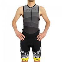 [해외]ZOOT Performance Front Zip Race Suit Sleeveless Trisuit 1138152158 Grey / Black