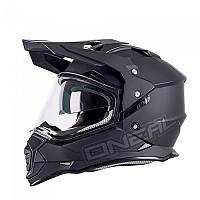 [해외]오닐 Sierra Flat Convertible Helmet 9136260211 Black