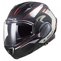 [해외]LS2 FF900 Valiant II Hub Modular Helmet 9137865477 Gloss Black / Chrome