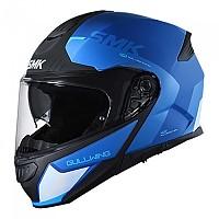 [해외]SMK Gullwing Kresto Modular Helmet 9138113858 Glossy Blue / Black / White