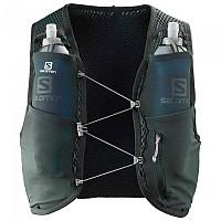 [해외]살로몬 Active Skin 4 Set Hydration Vest 4138166817 Green Gables / Alloy