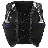 [해외]살로몬 Active Skin 8 Hydration Vest 4138166818 Black / Ebony