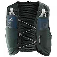 [해외]살로몬 Active Skin 8 Set Hydration Vest 4138166820 Green Gables / Alloy