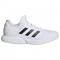 [해외]아디다스 Court Team Bounce Shoes 3137891588 Ftwr White / Core Black / Silver Met.