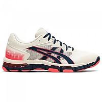 [해외]아식스 Gel Netburner Academy 8 Shoes 3138131569 Cream / French Blue
