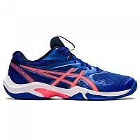 [해외]아식스 Gel Blade 8 Shoes 3138131862 Lapis Lazuli Blue / Blazing Coral