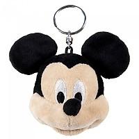 [해외]CERDA GROUP Mickey Plush Key Ring 7 cm Black
