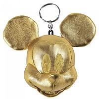 [해외]CERDA GROUP Mickey Plush Key Ring 7 cm Gold