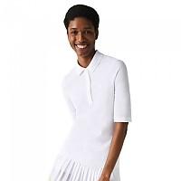 [해외]라코스테 Slim Fit Short Sleeve Polo White