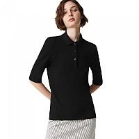 [해외]라코스테 Slim Fit Short Sleeve Polo Black