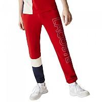[해외]라코스테 Lettered ColourBlock Fleece Tracksuit Pants Red / Beige / Navy