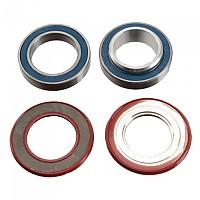 [해외]ENDURO BK5412 BB90/96 GXP/스램 Road Bottom Bracket Bearings Kit 1138173608 Red / Black