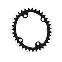 [해외]ROTOR Q Ring 스램 AXS 107 BCD Oval Chainring 1138135010 Inner Black