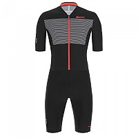 [해외]산티니 Redux Istinto Short Sleeve Trisuit 1137812367 Black