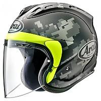 [해외]아라이 헬멧 SZ-R VAS Open Face Helmet 9137805009 Mimetic