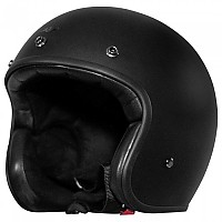 [해외]RUSTY STITCHES Fonzie Open Face Helmet 9138192530 Matt Black