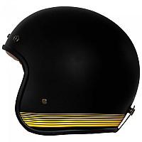 [해외]RUSTY STITCHES Fonzie Open Face Helmet 9138192532 Matt Black / Yellow