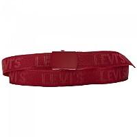 [해외]리바이스 FOOTWEAR Tonal Tickfaw Web Belt Regular Red