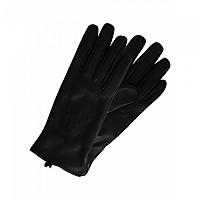 [해외]PIECES Nellie Leather Smart Gloves Black
