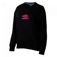 [해외]엄브로 Classsico 2.0 Crew Sweatshirt 3138198934 Black / Sorbet