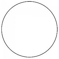 [해외]SOFTEE Circular Vinyl For Cone 3137772477 Black