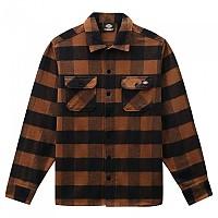 [해외]DICKIES New Sacramento Long Sleeve Shirt 9138164474 Brown Duck