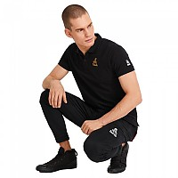 [해외]DAKAR Golden Logo Short Sleeve Polo 9138184873 Black