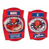 [해외]DISNEY Spider Man Elbows/Knees Protections Kit 1138173367 Red