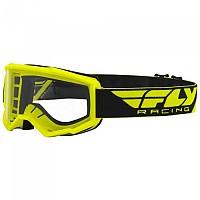 [해외]FLY RACING Focus 2021 Glasses 1138197624 Fluo Yellow